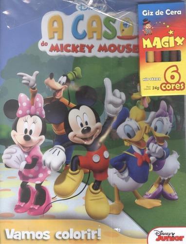 Imagem 1 de 1 de Casa Do Mickey Mouse - Vamos Colorir!