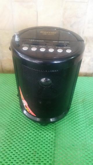 Radio Linterna Led Recargable Fm-usb-sd-12v-110v - Aux