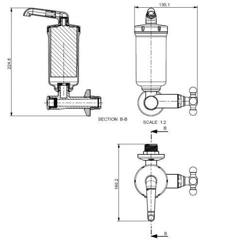 Derivador Con Filtro Maruja Viqua 1212102