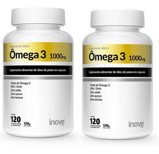 Omega 3 1000mg 240 Capsulas - Inove Nutrition