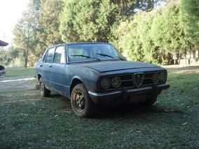 Alfa Romeo 2300 Ano 75 E Ano 86 (para Peças)