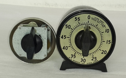 *reloj Temporizador De Mesa Cronómetro Marca Mark Time-usa*