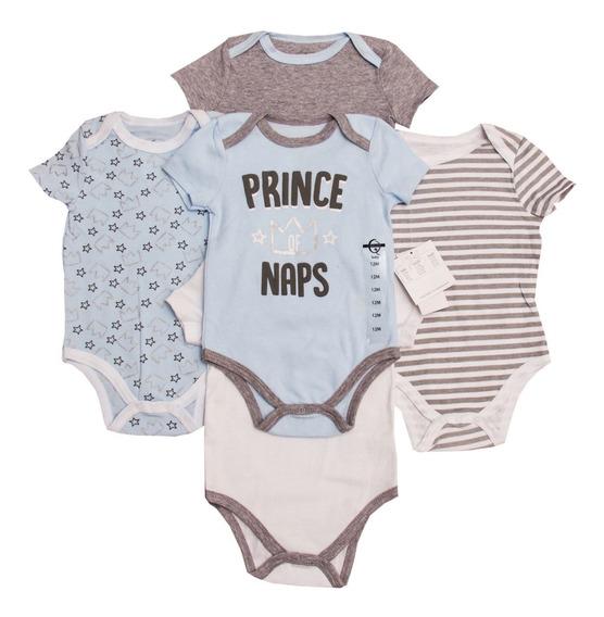 Paquete 5 Pañaleros Bebé Niño Niña 12 Meses Marca Quiltex