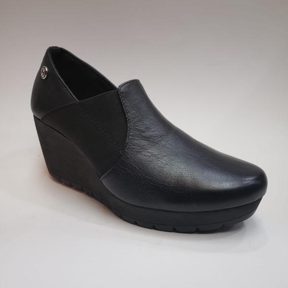 Zapato Formal Plataforma Tacón Corrido