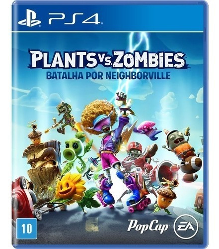 Plants Vs Zombies Batalha Por Neighborville Mídia Física Nov