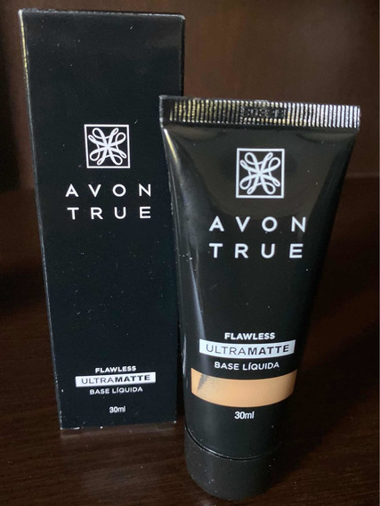 Base Avon True Flawless Ultramatte 30ml - Avelã