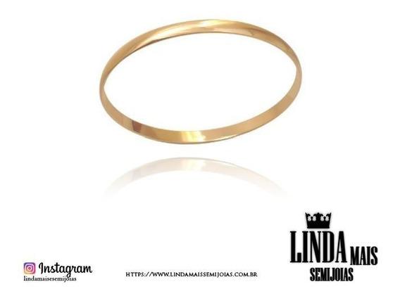 Bracelete Liso Estilo Chapa Bp 0125-5
