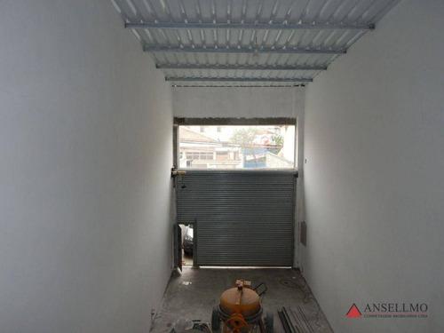 Imagem 1 de 10 de Galpão Para Alugar, 150 M² Por R$ 5.000,00/mês - Centro - São Bernardo Do Campo/sp - Ga0417