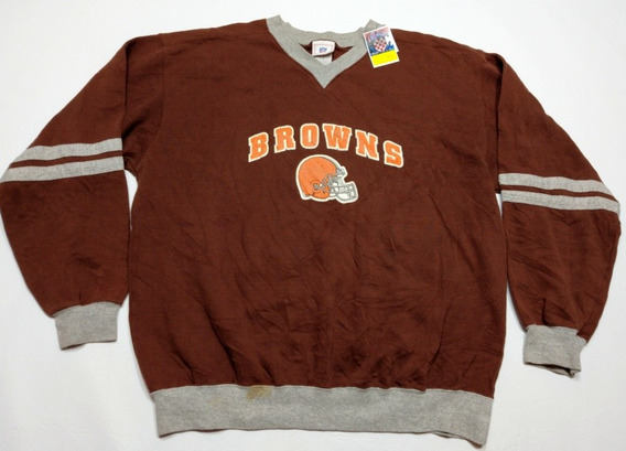 Buzo Vintage Americano Cleveland Browns Nfl Talle L Football