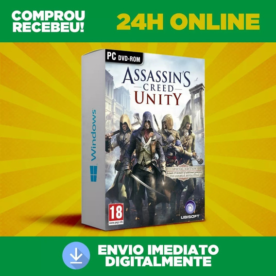 Assassins Creed Unity - Pc Português + Dlc Envio 0