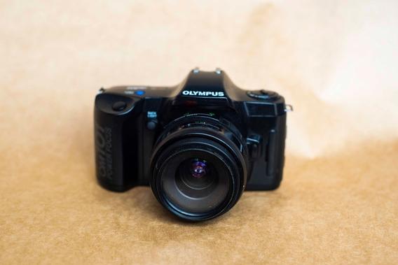 Camera Olympus Om 101 Com Lente 35-70mm Defeito