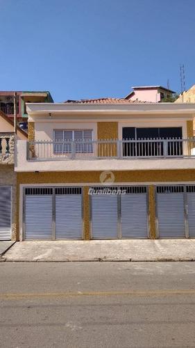 Imagem 1 de 15 de Casa À Venda, 255 M² Por R$ 550.000,00 - Vila Assis Brasil - Mauá/sp - Ca0045