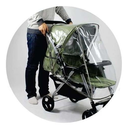 Capa De Chuva Para Carrinho De Bebe - Clingo C2107