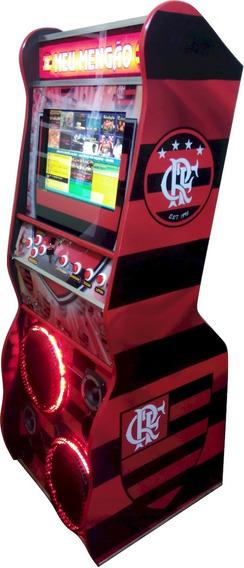 Maquina De Musica Jukebox 19 Polegadas Sem Leitores Dinheiro