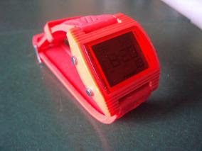 Relógio Fóssil Red