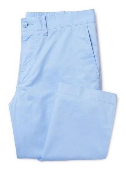 Lacoste Pantalon Hombre Gabardina Hh8240