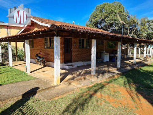 Imagem 1 de 30 de Ótima Chácara Com 3 Dormitórios, Pomar, Córrego E Nascente, À Venda, 1900 M² Por R$ 240.000 - Rural - Socorro/sp - Ch0998