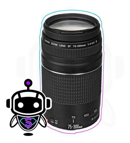 Lente Canon Ef 75-300mm F/4-5.6 + G R A T I S Memoria 32gb !