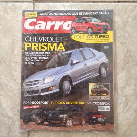 Revista Carro N156 Out2006 Chevrolet Prisma Polo Gti Turbo