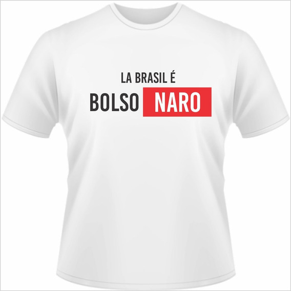 Camisa Camiseta Jair Bolsonaro 17 Promoção