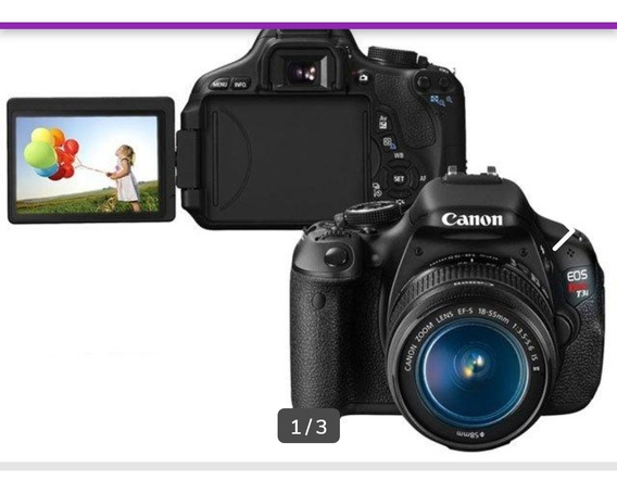 Câmera Canon 600d