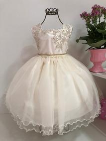 Vestido Realeza Princesa Renda Infantil Cod. 2173 2124