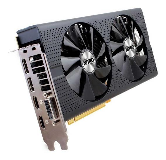 Placa De Video Sapphire Radeon Rx 470oc 4gb Gddr5 Nitro