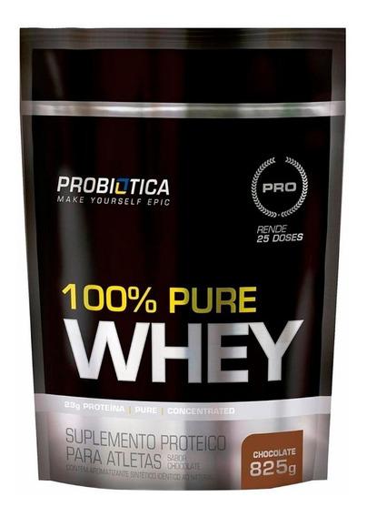 100% Pure Whey 825g Refil Probiótica Promoção