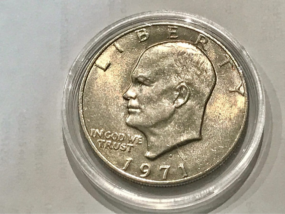 Moneda De 1 Dolar Eisenhower - Liberty - 1971/ 76