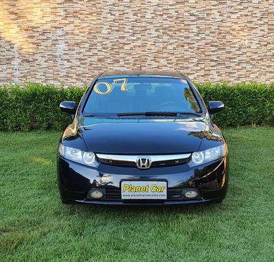 Honda Civic 2007 1.8 Lxs Flex 4p