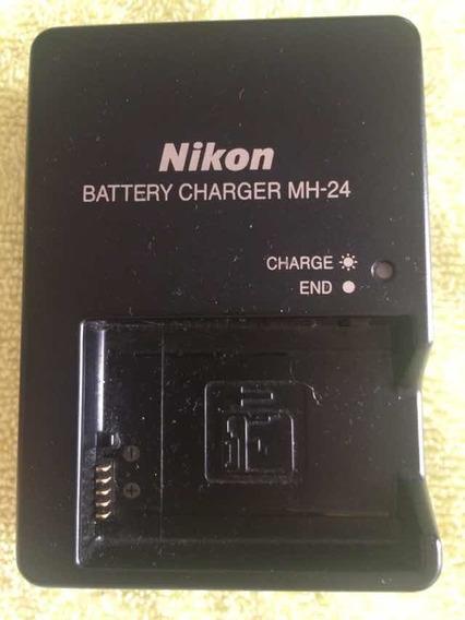 Nikon Cargador Mh-24 Y Batería En El-14