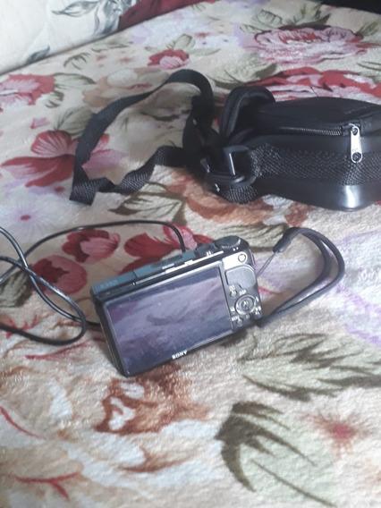 Camera Sony Cyber Shot Dsc- Hx9v S/cabo/bateria Completo