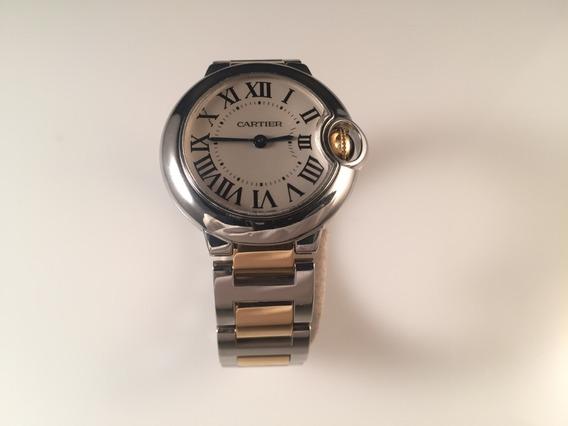 Reloj Cartier Ballon Bleu Ladies Acero Oro Amarillo