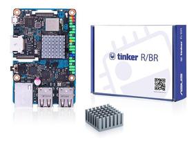 Kit Asus Tinker Board R 2gb Quad-core + Case + Fonte Raspb