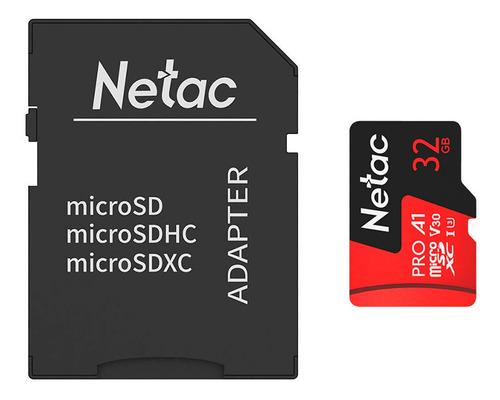 Cartão Memoria Microsd 32gb Extreme Pro Netac C Adap