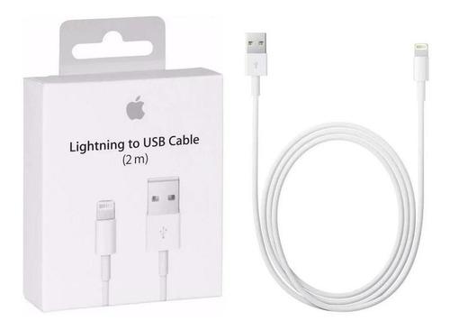 Cable Carga Y Datos Lightning Apple Md819am/a Usb 2 Metros iPhone Original | Tres Mares Argentina