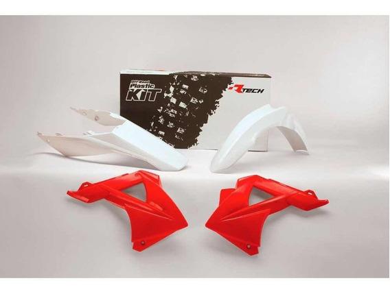 Kit Plastico 4 Peças Gas Gas Mc Ec 125 11 R-kitgas-oem-404