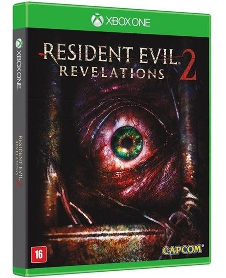 Jogo Resident Evil Revelations 2 Xbox One Midia Fisica Novo
