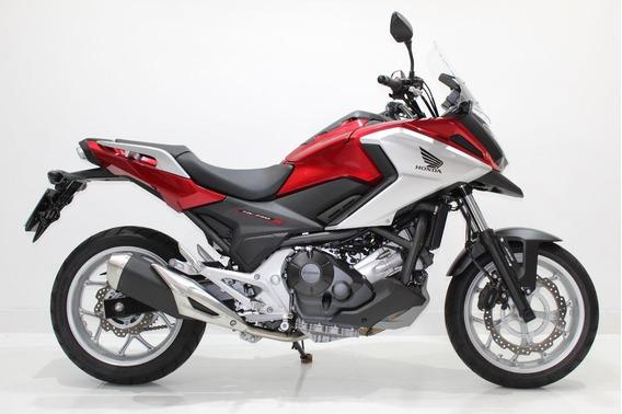 Honda Nc 750 X Abs 2019 Vermelha - Baixo Km