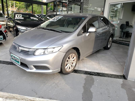 Honda Civic 1.8 Lxs 16v Flex 4p Automático 2013 / Civic 13