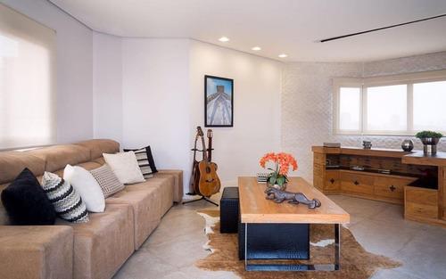 Cobertura Duplex Com 3 Dormitórios À Venda, 298 M² Por R$ 3.500.000 - Campo Belo - São Paulo/sp Forte Prime Imoveis - Co0977