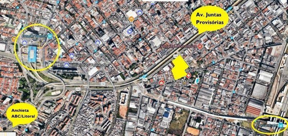 Galpão Com 10.780m² Na Juntas Provisórias, Vila Independência, São Paulo. - Ga0002