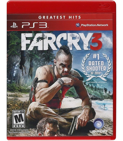 Far Cry 3 Ps3 Mídia Física Novo Lacrado Original