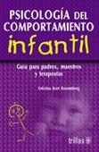 Libro Psicología Del Comportamiento Infantil *ts