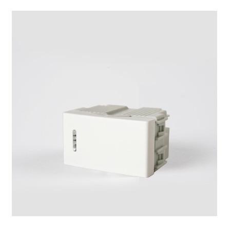 Imagen 1 de 1 de Modulo Punto Kalop Kd40100 Blanco Pack X10