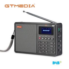 Rádio Gtmedia D1 Dab Bluetooth Embutido Fm Stéreo Cartão Tf