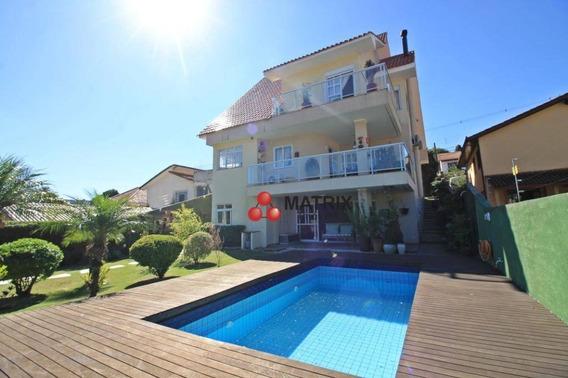 Casa Com 4 Dormitórios À Venda, 445 M² Por R$ 2.600.000 - Vista Alegre - Curitiba/pr - Ca1373