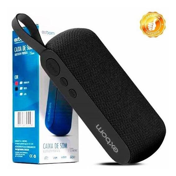 Caixa Portátil Bluetooth 4.2 Com Rádio Fm Usb Micro Sd Aux
