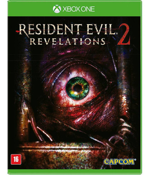 Resident Evil Revelations 2 Xbox One Midia Fisica Nacional