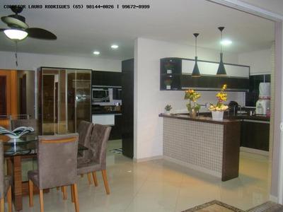 Casa Em Condomínio Para Venda Em Cuiabá, Florais, 1 Dormitório, 4 Suítes, 2 Banheiros, 4 Vagas - 277747